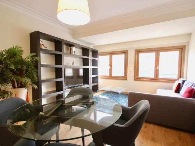 Moderno apartamento de 1 quarto para alugar em Lumiar, Lisboa