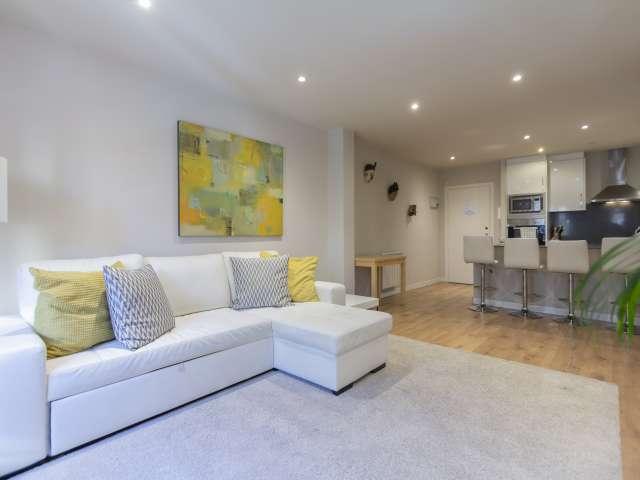 Stilvolle 2-Zimmer-Wohnung zur Miete in Centro, Madrid