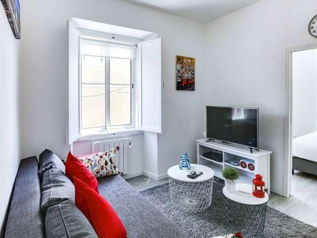 Cozy 1-bedroom apartment for rent in Alcântara, Lisbon