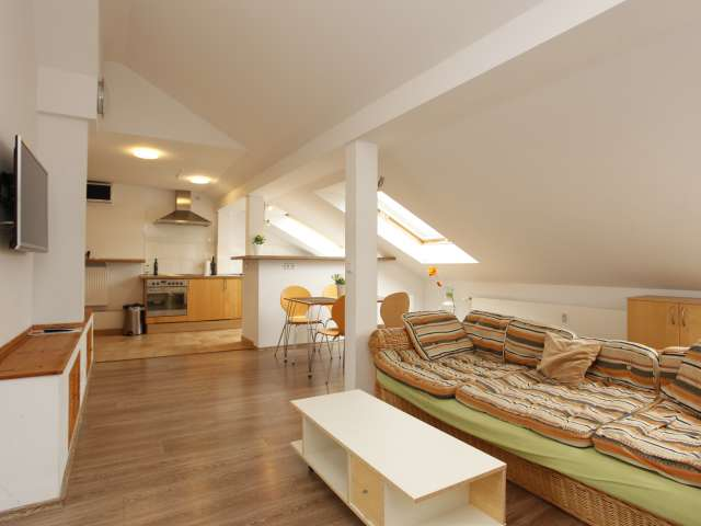 Spacious 2-bedroom loft apartment for rent in Pankow, Berlin