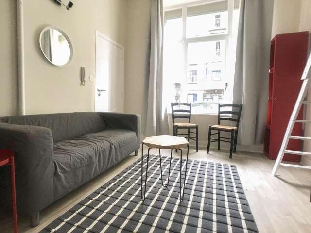 Studio apartment for rent in Saint Gilles, Brussels