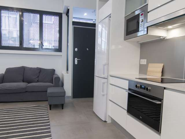 Modernes Studio-Apartment zur Miete in Guindalera, Madrid