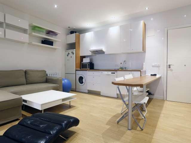 3-Zimmer-Wohnung zu vermieten mit AC in Malasaña, Madrid