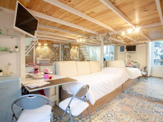 Moderno apartamento de 1 dormitorio en alquiler en Centro, Madrid