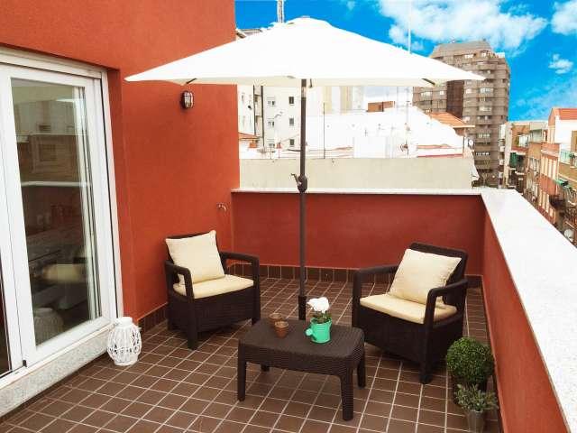 Light rented apartment in Retiro, Madrid