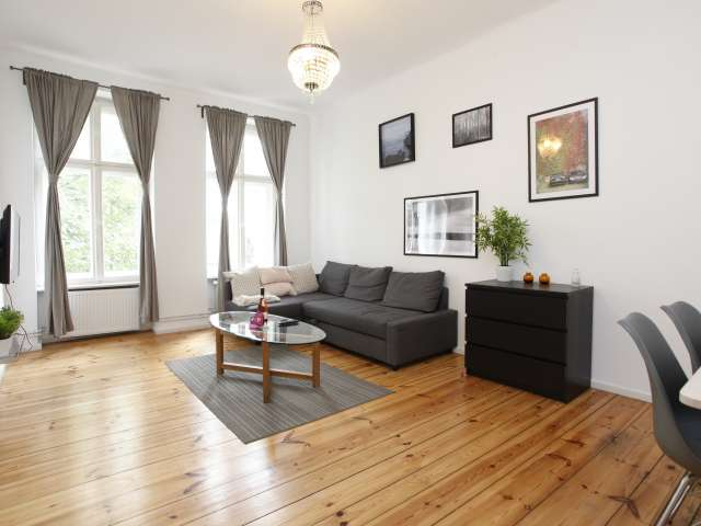 Quality 1-bedroom apartment for rent in Moabit, Berlin