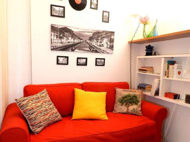 Accogliente appartamento con 1 camera da letto in affitto a Brera, Milano