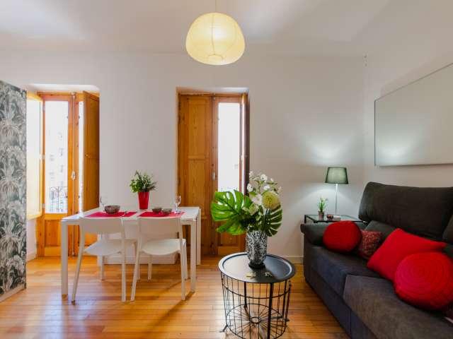 Pretty studio apartment for rent in Puerta del Angel, Madrid