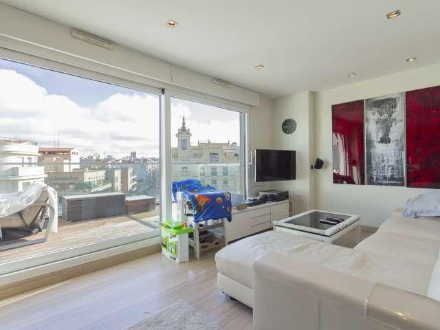 Fantastische 1-Zimmer-Wohnung zur Miete in Argüelles, Madrid