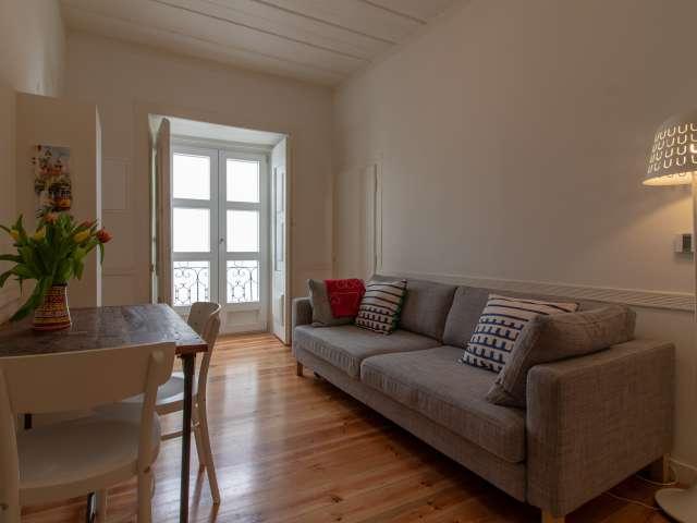 Apartamento chique para alugar em Santa Maria Maior, Lisboa