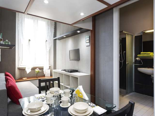 Family-friendly studio apartment for rent in Pagano, Milan