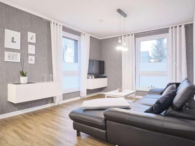 Moderne Wohnung mit 1 Schlafzimmer zu vermieten in Lichtenberg