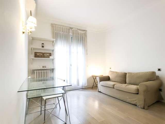 Bright studio apartment for rent in Salamanca, Madrid