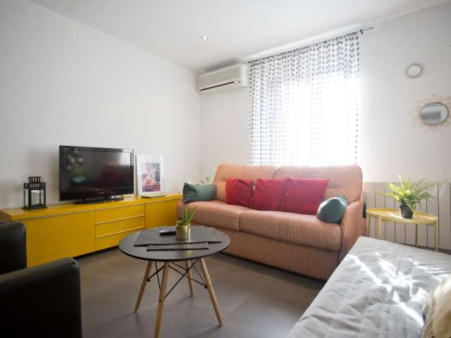 Charmante 2-Zimmer-Wohnung zur Miete in Malasaña, Madrid