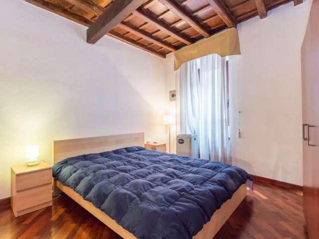 Camera in affitto in appartamento con 2 camere da letto a Trastevere