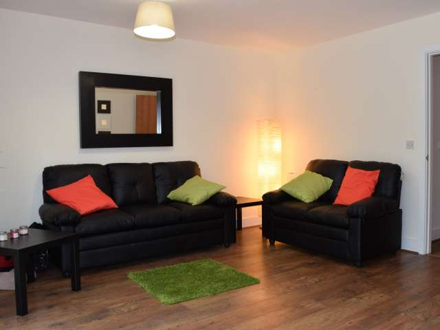 Spacious 2-bed flat with balcony in Castleknock, Dublin