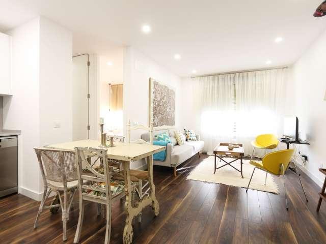 Stilvolle 2-Zimmer-Wohnung zur Miete in Moncloa, Madrid