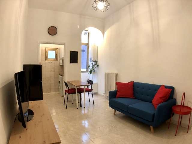 Fresh 1-bedroom apartment for rent, Barona, Milan