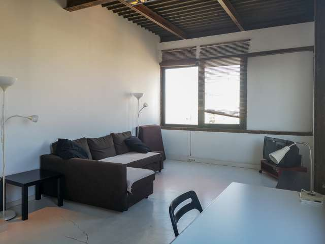 Stylish studio apartment for rent in Poblenou, Barcelona