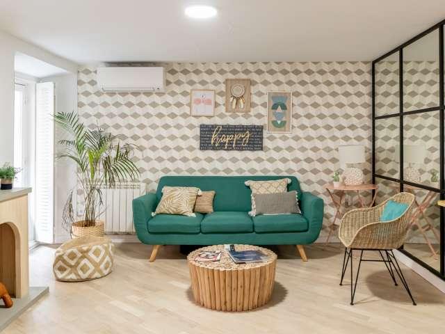 Stilvolle 2-Zimmer-Wohnung zu vermieten in La Latina, Madrid