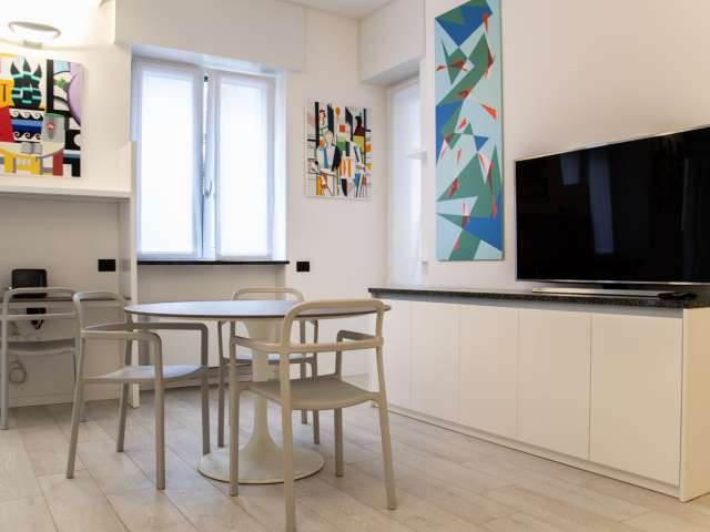 Modern 1-bedroom apartment for rent in Milan Centro