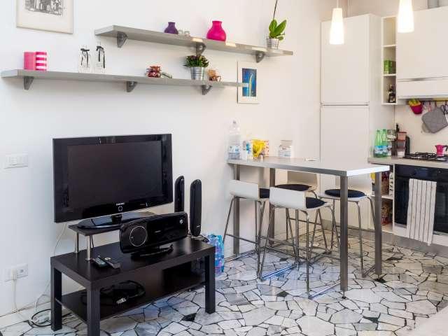 Stanza con bagno in camera in appartamento condiviso, Quartiere Triennale 8