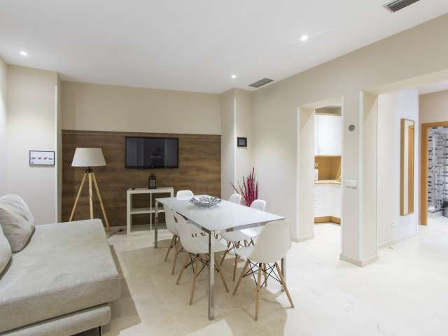 Modische 2-Zimmer-Wohnung zur Miete in Centro, Madrid