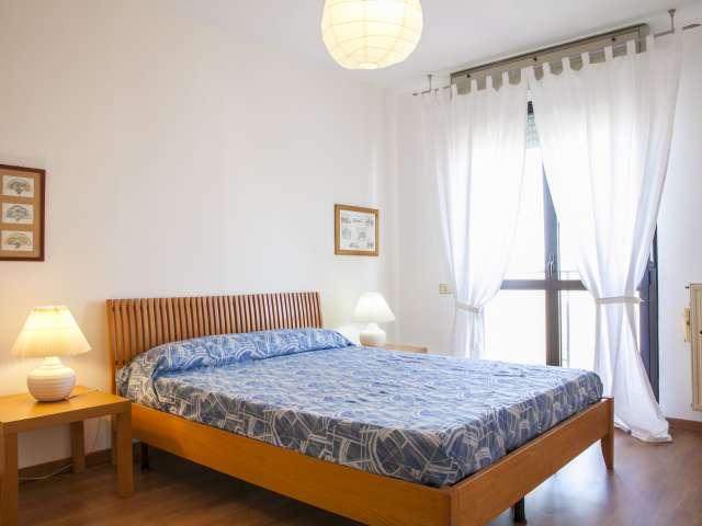 Appartamento con 1 camera da letto e balcone in affitto, Cecchignola, Roma