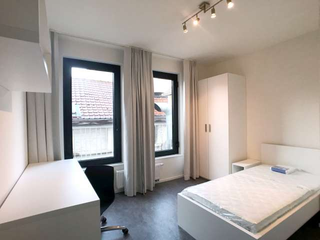 Bright room in 4-bedroom apartment in Centre, Brussels
