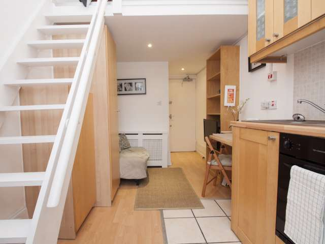 Charming studio with balcony in London city center