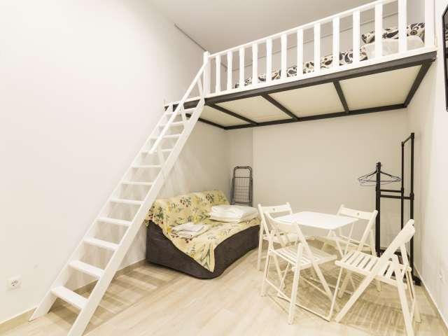 Gemütliches Studio-Wohnung zur Miete in bohemian Lavapiés, Madrid