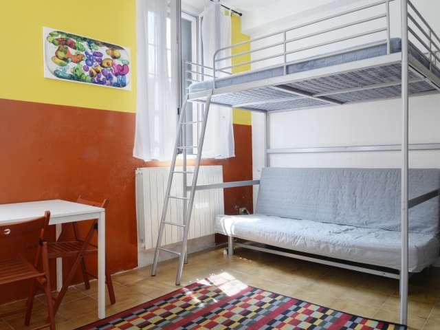 Modern studio apartment for rent in Loreto, Milan