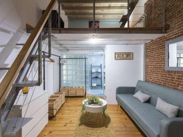 Unique studio apartment for rent in Salamanca, Madrid