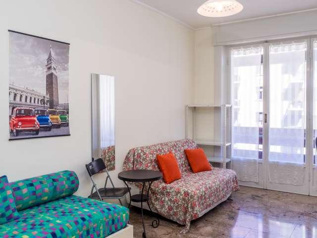 Stanza spaziosa in un appartamento di 6 locali, Buenos Aires, Milano