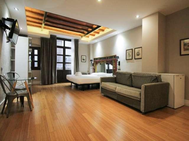 Studio accogliente in affitto a El Born, Barcellona