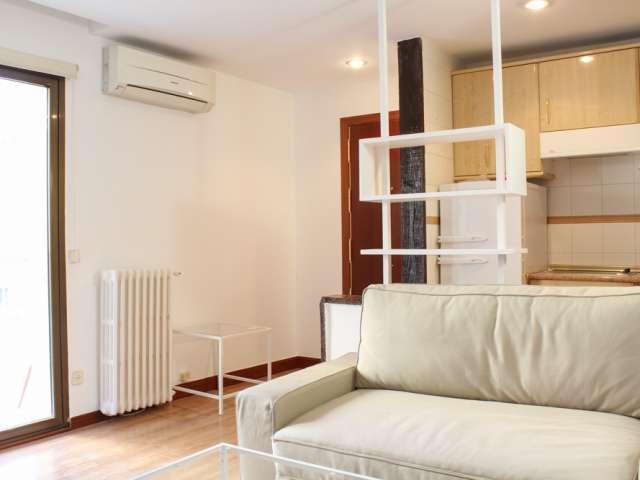 Gemütliche 1-Zimmer-Wohnung zur Miete in Nueva España, Madrid