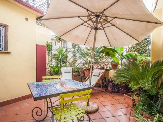 Monolocale con terrazza in affitto a Centro, Roma