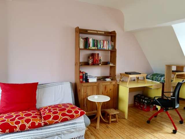 Chambres à louer dans une maison de 5 chambres à Schaerbeek, Bruxelles