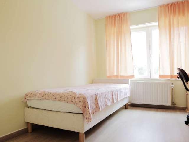 Geräumige 1-Zimmer-Wohnung zur Miete in Evere, Brüssel