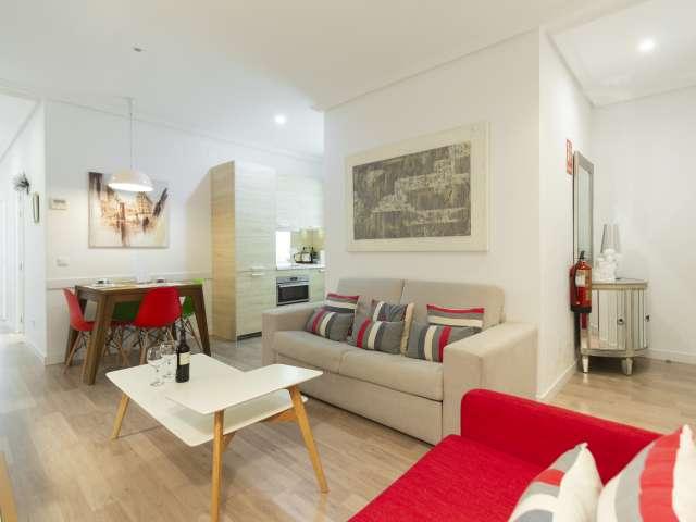 Precioso apartamento de 2 dormitorios en alquiler en el centro de Madrid