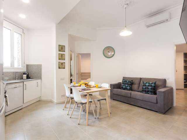 Terrific 2-bedroom apartment for rent in Poblenou, Barcelona