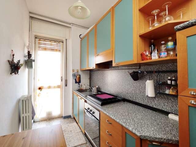 Appartement meublé 1 chambre à louer à Bicocca, Milan