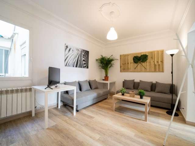 Stilvolle 4-Zimmer-Wohnung zur Miete in Chamartín, Madrid