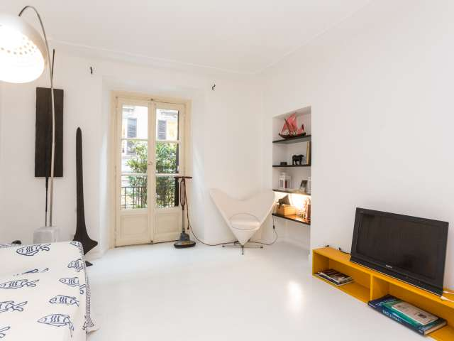 Stylish 1-bedroom apartment for rent in Brera, Milan