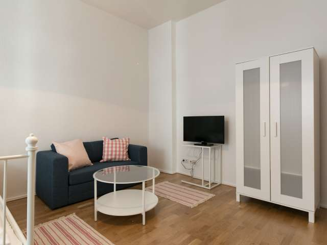 Cosy apartment with 1 bedroom for rent in Friedrichshain