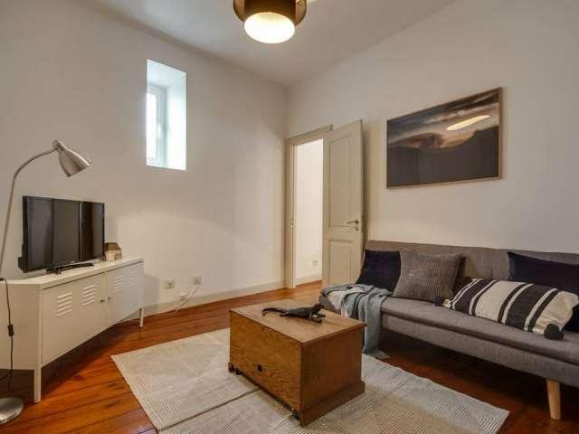 Cozy 1-bedroom apartment for rent in Estrela, Lisbon