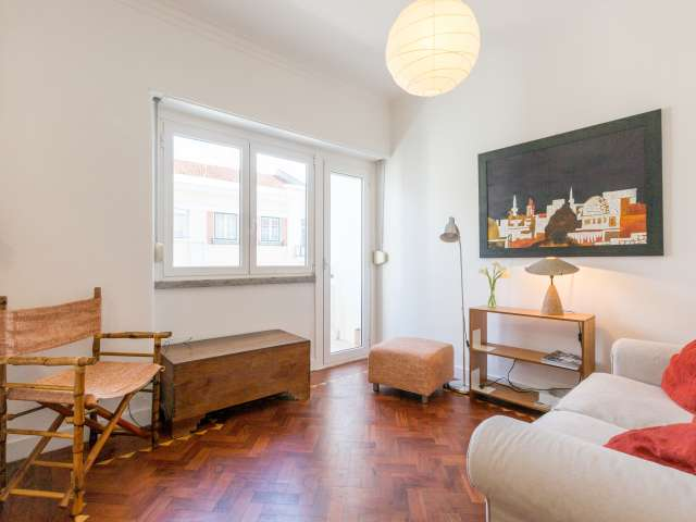 Stylish 1-bedroom apartment for rent in Campo de Ourique