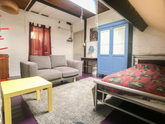 Studio apartment for rent in Forest, Brussels