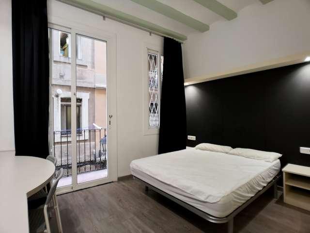 Minimalistisches Studio-Apartment zur Miete in El Raval, Barcelona