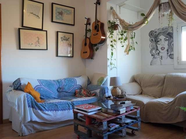 2-Zimmer-Wohnung zur Miete in Poblenou, Barcelona